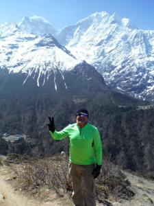 Ron Wahula of Raleigh enjoyed  a dream trip to Mount Everest Base Camp
