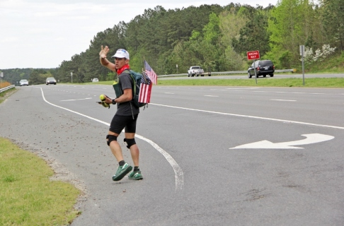 Dave Cockman heads east on U.S. Highway 64 near Pittsboro 2 (800x528)